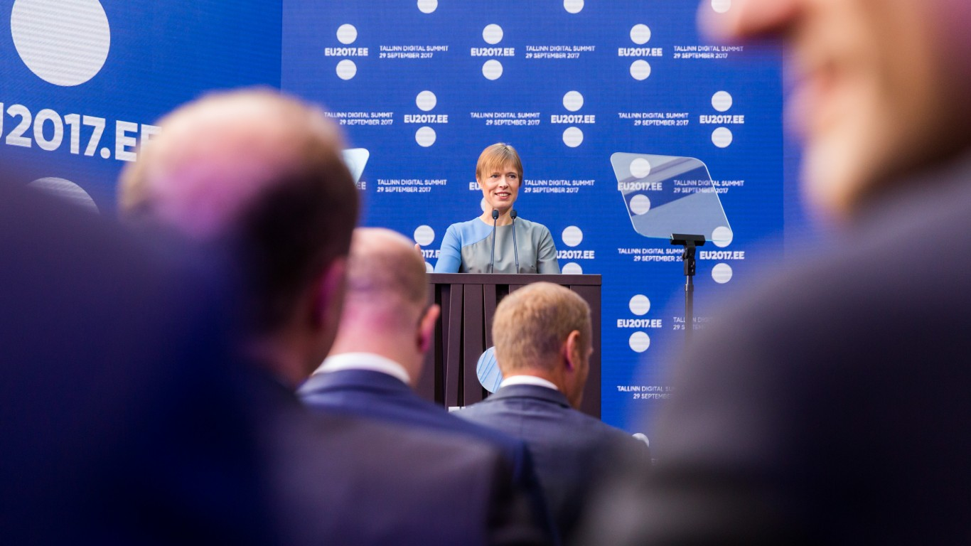 Kersti Kaljulaid by EU2017EE Estonian Presidency