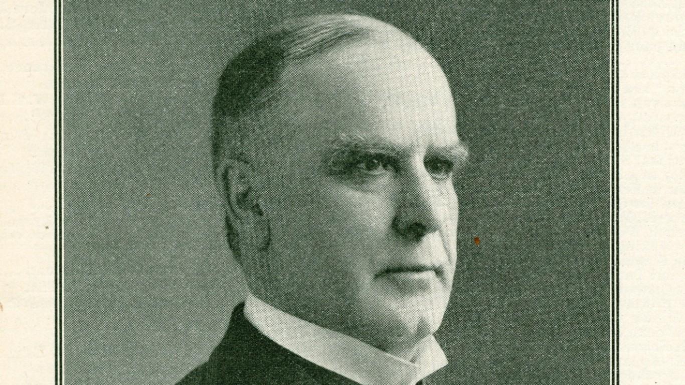 William McKinley (1843-1901) by Political Graveyard