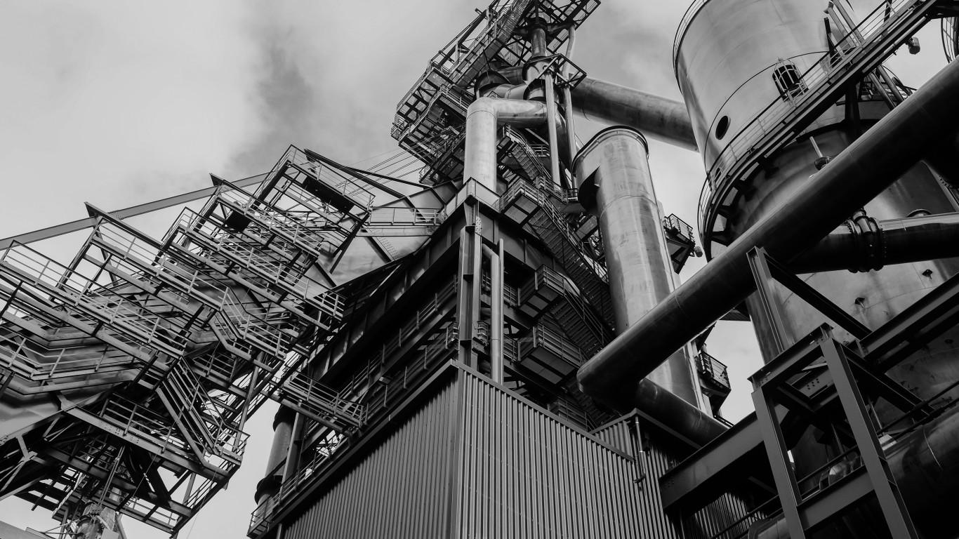steel mill by Tobias Begemann