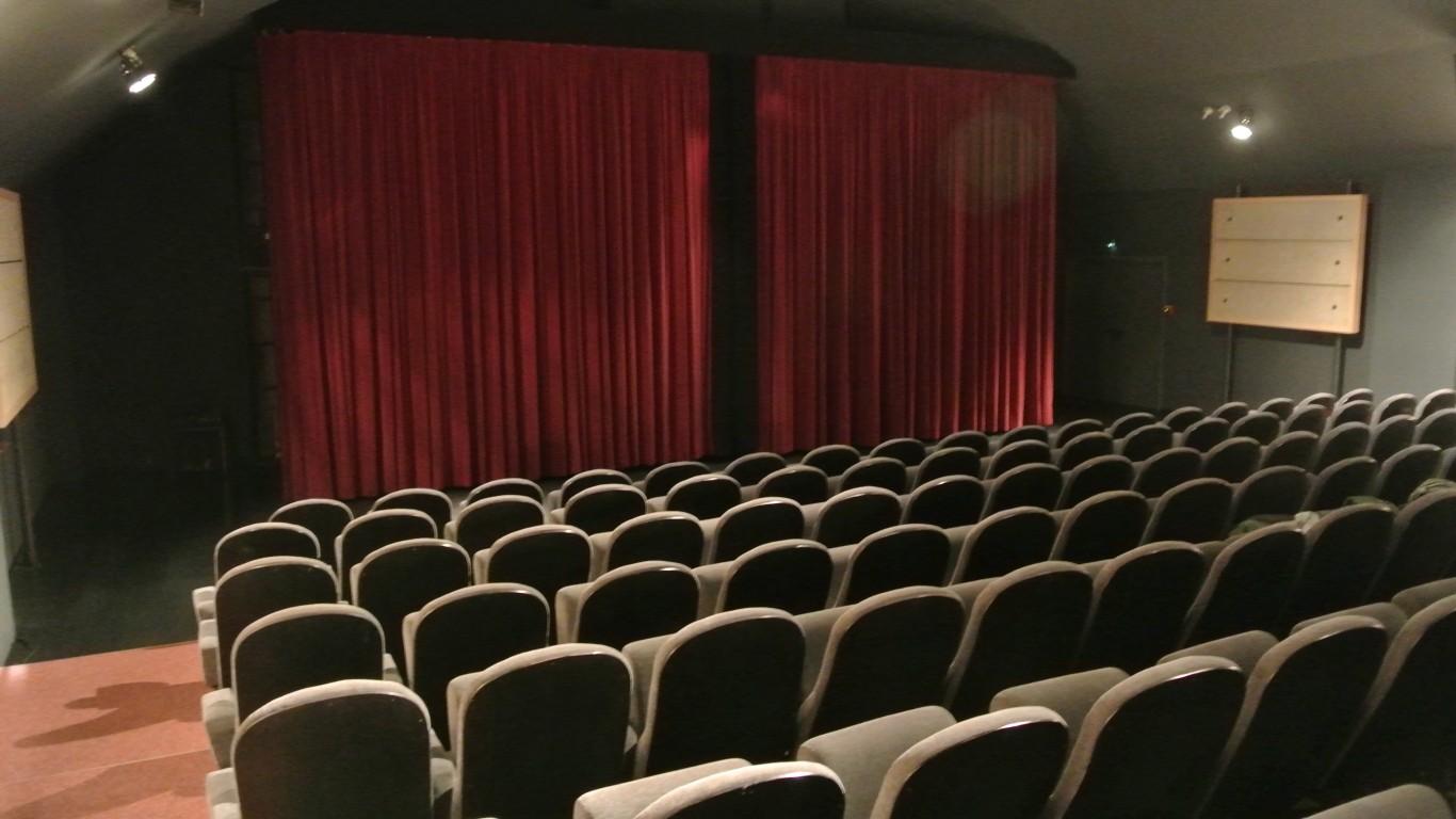 Empty Cinema Movie Theater by I G