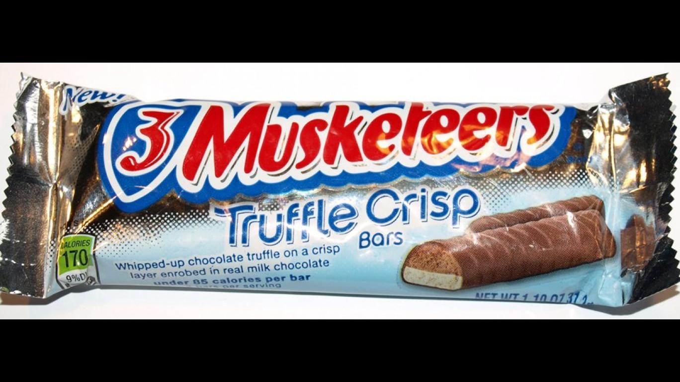 3 Musketeers Truffle Crisp Bar... by Bodo