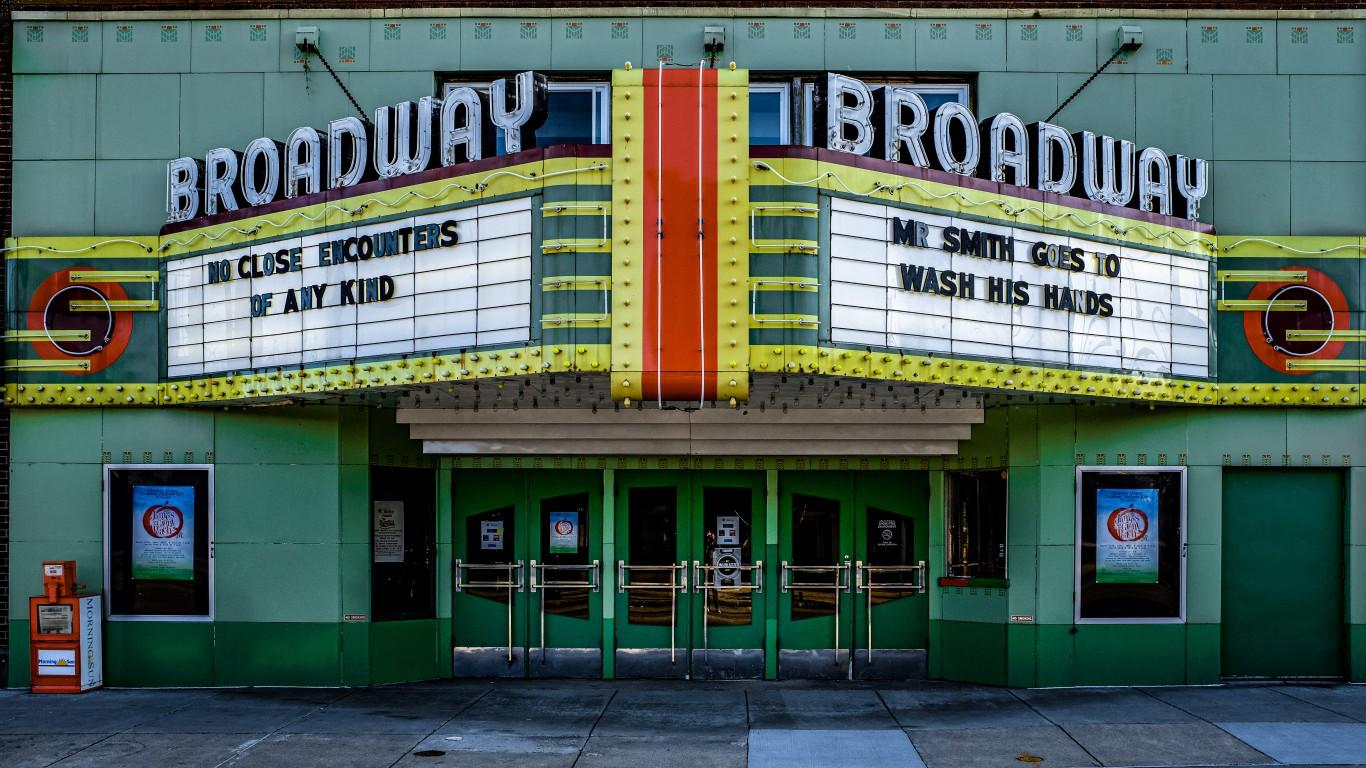 Broadway Theatre - Mt. Pleasan... by Dan Gaken