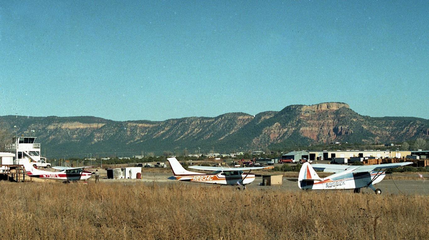 Ganado airfield, Apache County... by Phillip Capper