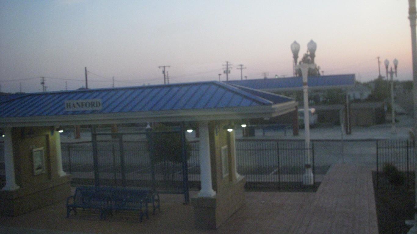 hanford train station by Rick Bradley