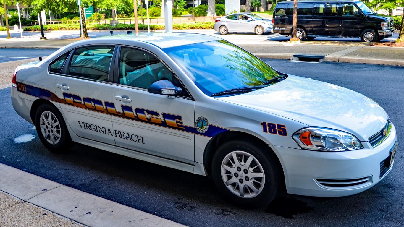 Virginia Beach Police 185 by Tomás Del Coro