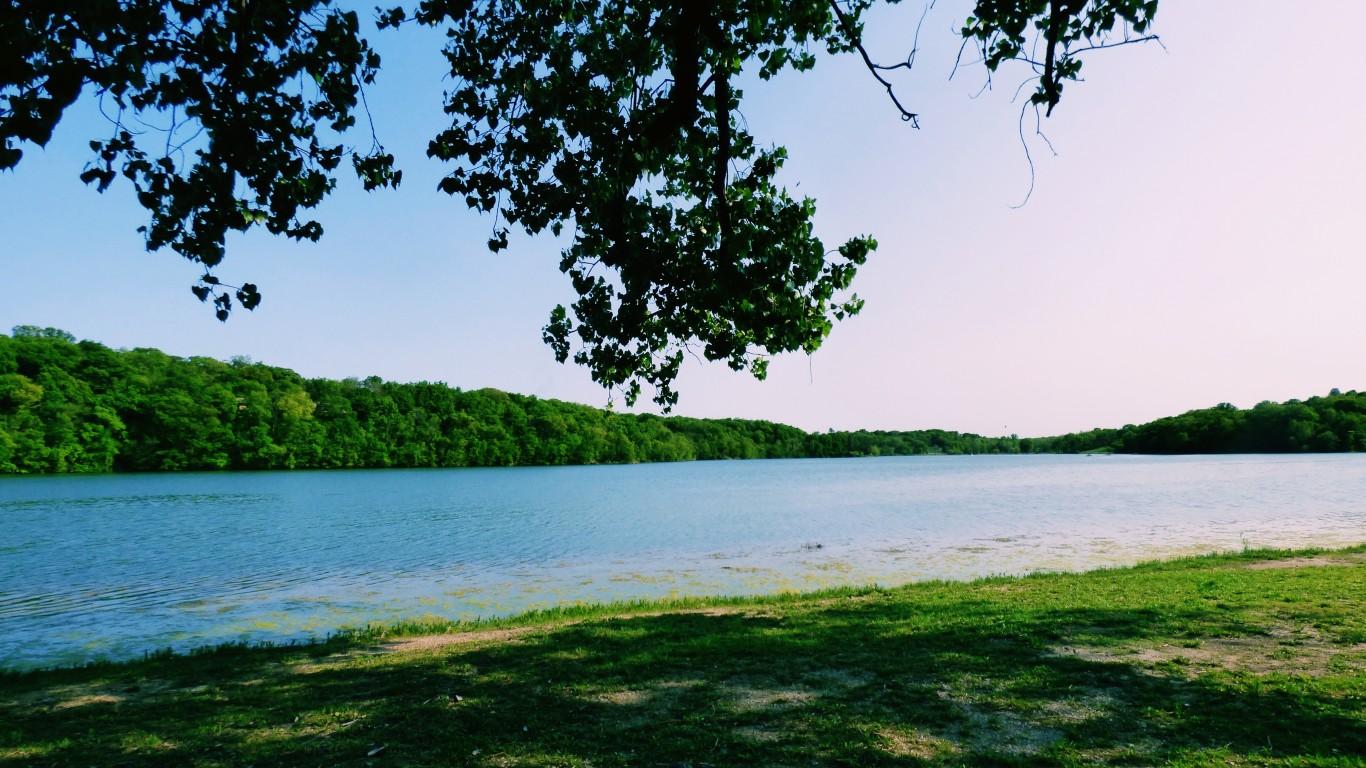 Wyandotte County Lake by Laura Supalla Gilchrist