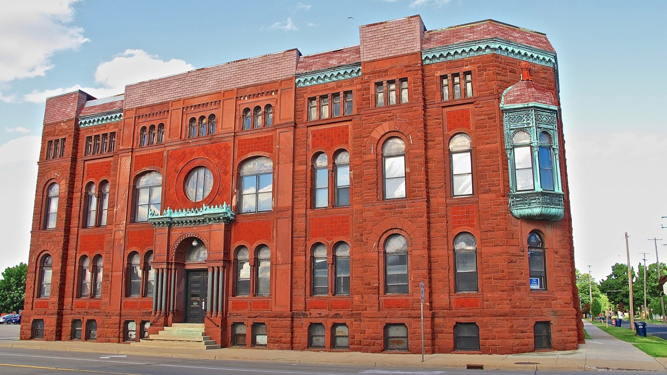 Bay City Masonic Temple in 201... by Chad Johnson from Lake Linden, MI, USA