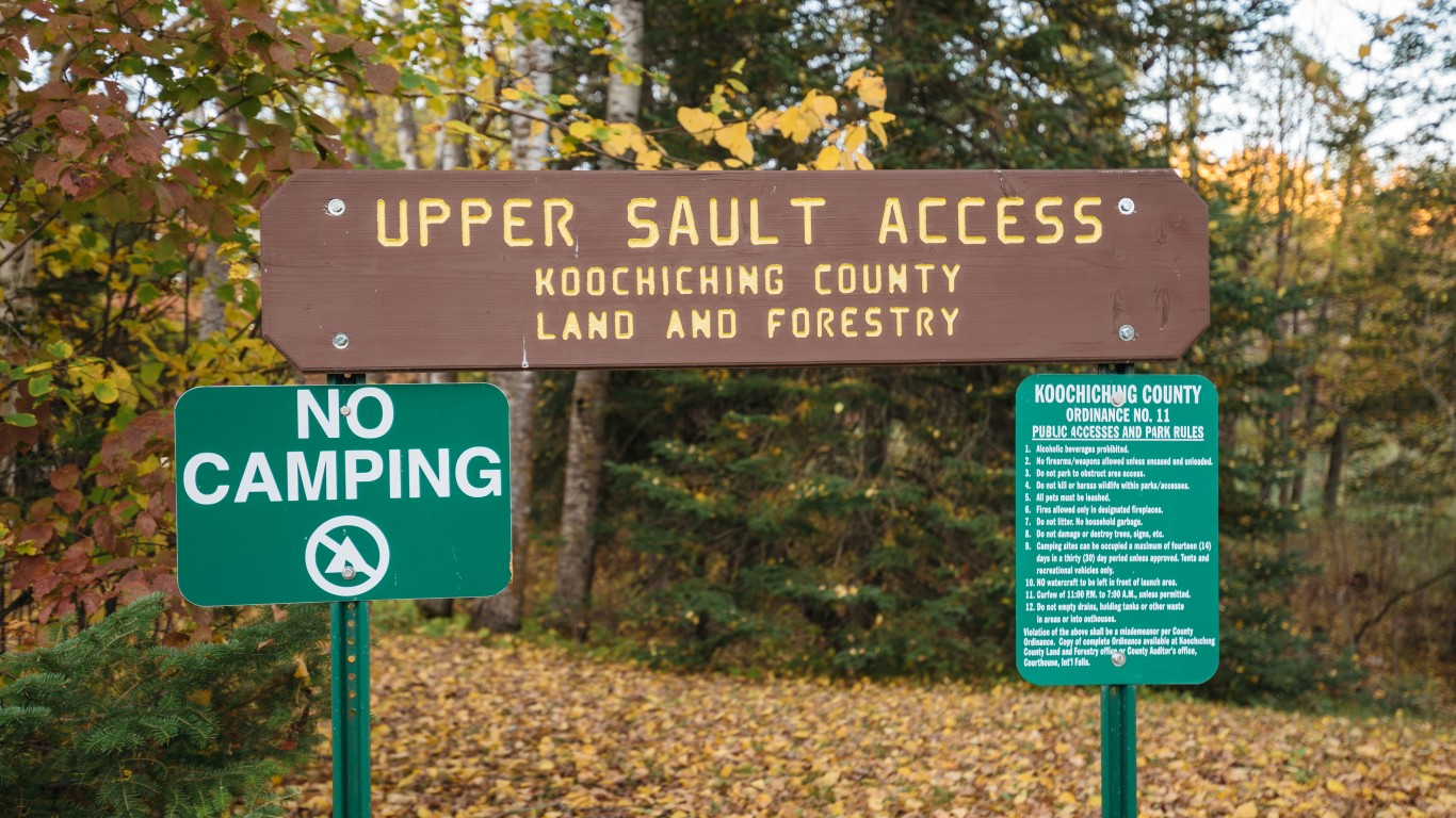 Upper Sault Access Sign - Rain... by Tony Webster
