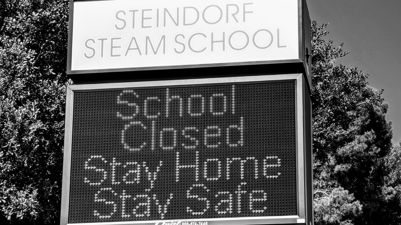 School Closed Stay Home by Travis Wise
