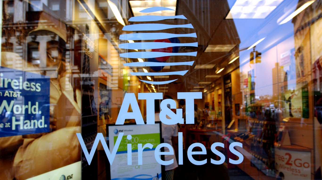 AT&T Has The Most Disappointing Big Company Stock This Year