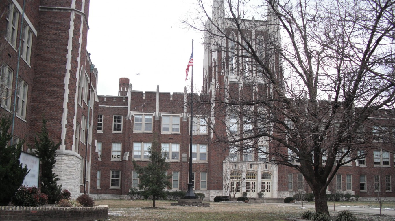 DuPont Manual High School by local louisville