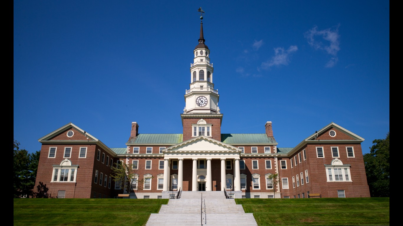 Colby College: Miller Library by R Boed