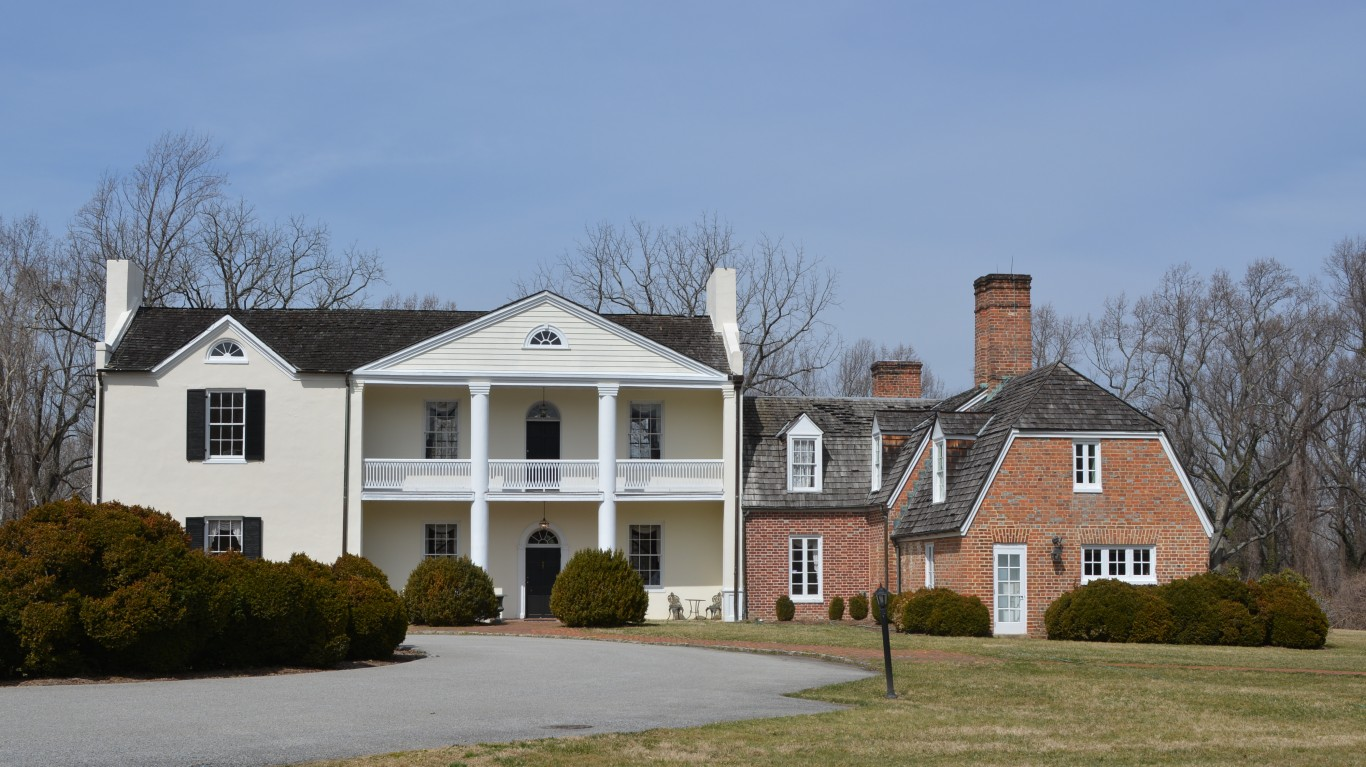 Mount Airy Mansion by Preservation Maryland