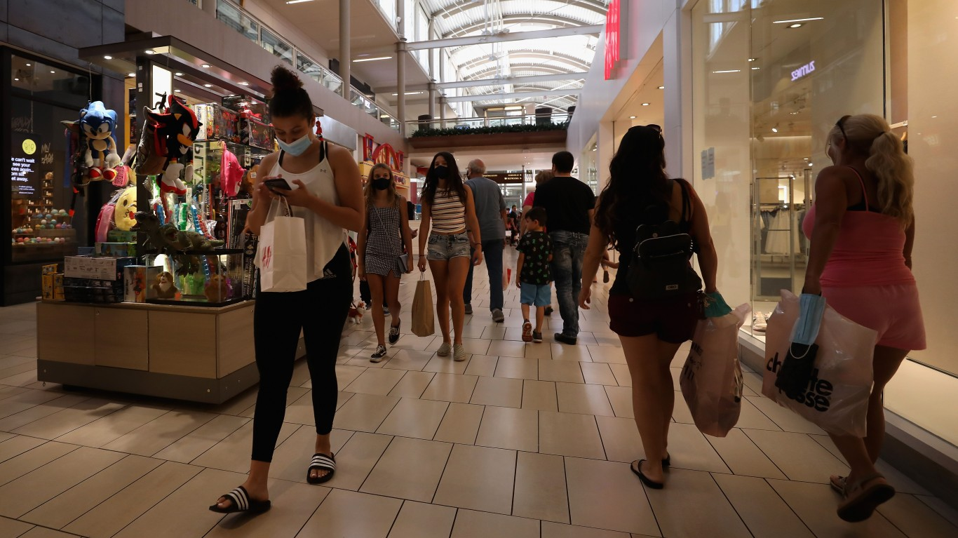 Unexpected Retail Sales Surge in September May Boost GDP