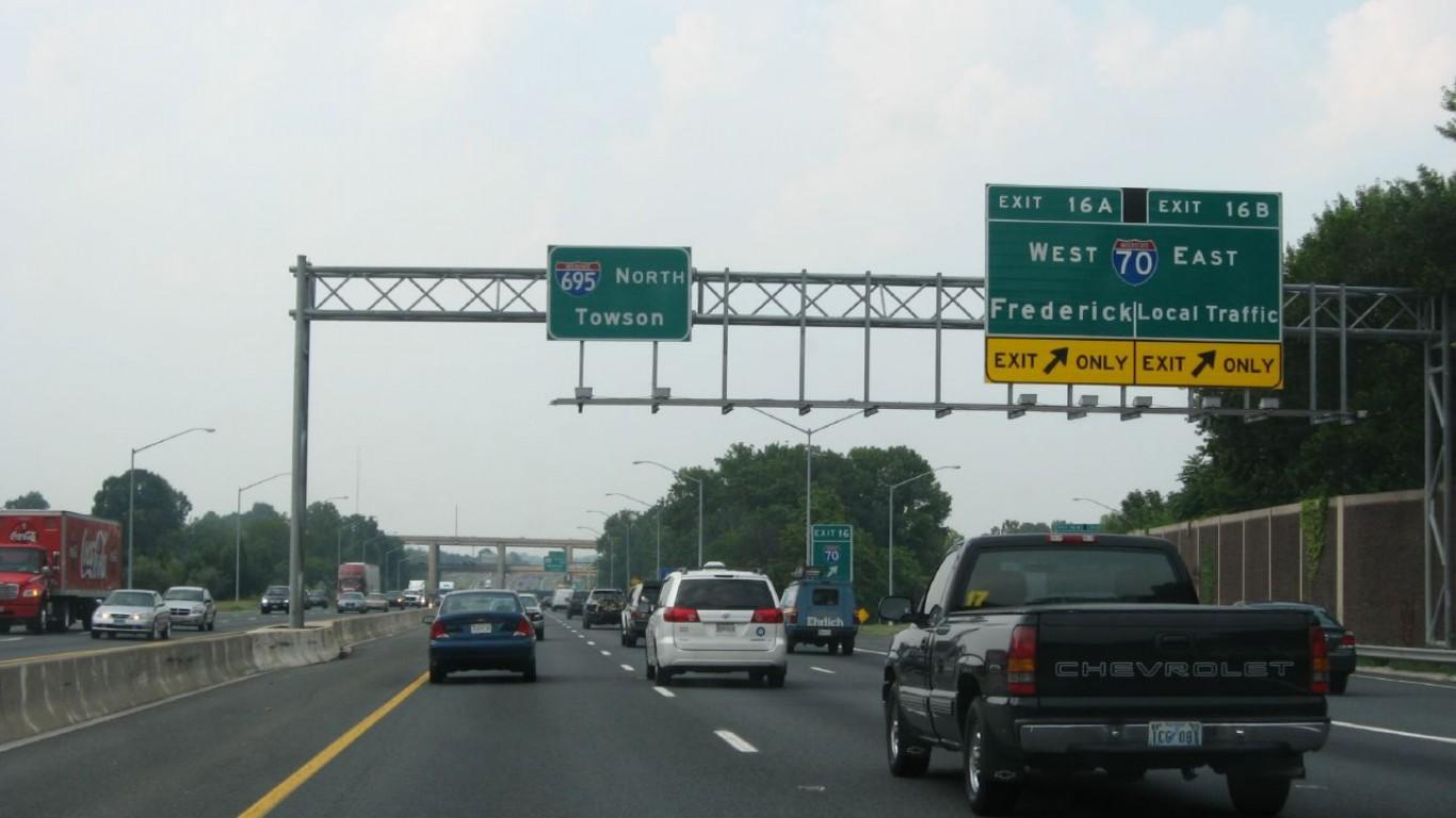 Exit 16, I-70, Interstate 695 ... by Ken Lund