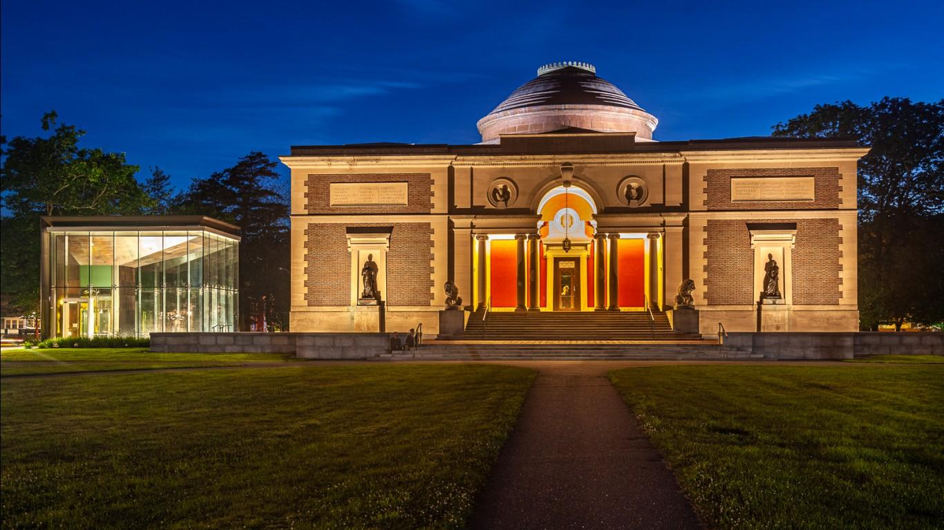 Bowdoin College Museum Of Art by Paul VanDerWerf