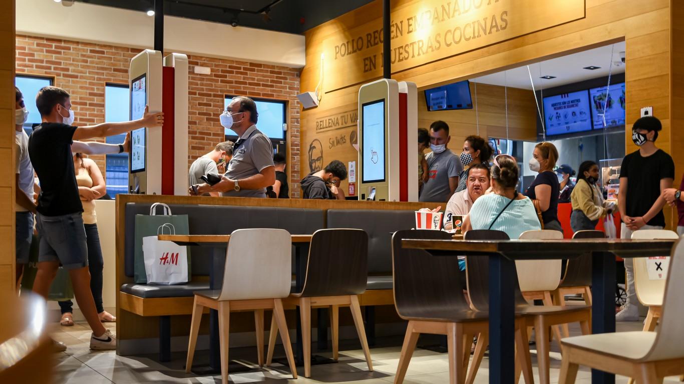 Jorge Franganillo的肯德基餐厅