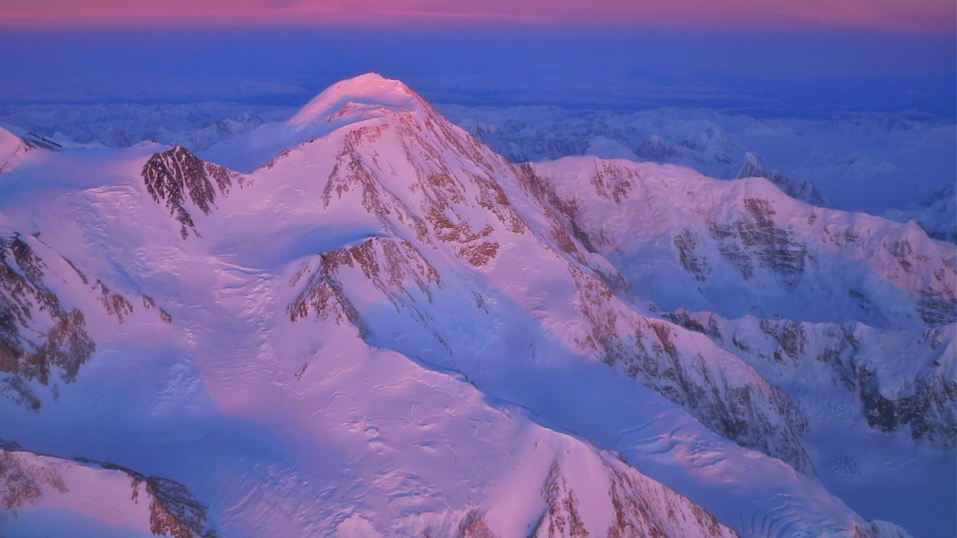 Denali Sunset by Joseph