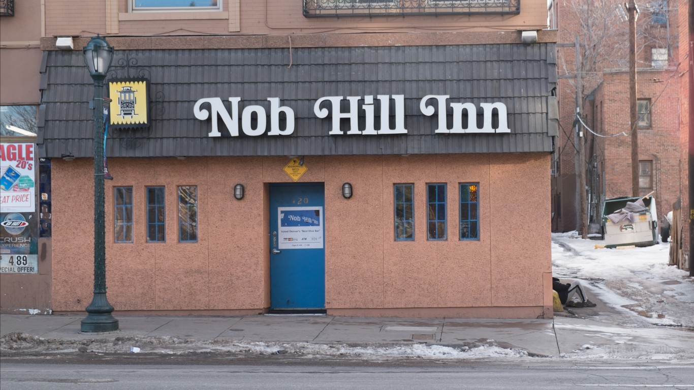 Nob Hill Inn by Paul Sableman