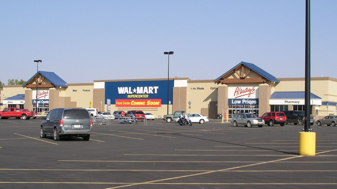 Wal-Mart Supercenter, Miles Ci... by David Schott