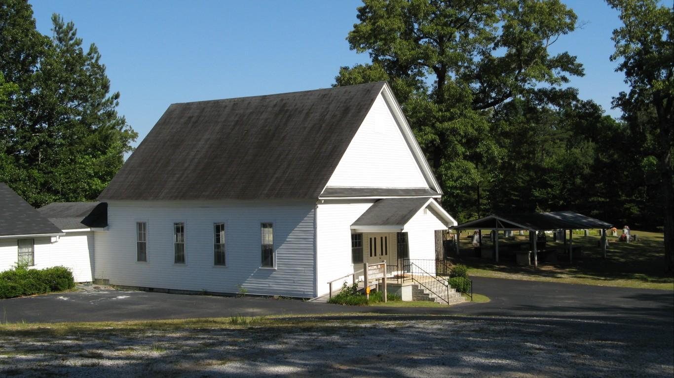 Bibbville Baptist Church by NatalieMaynor