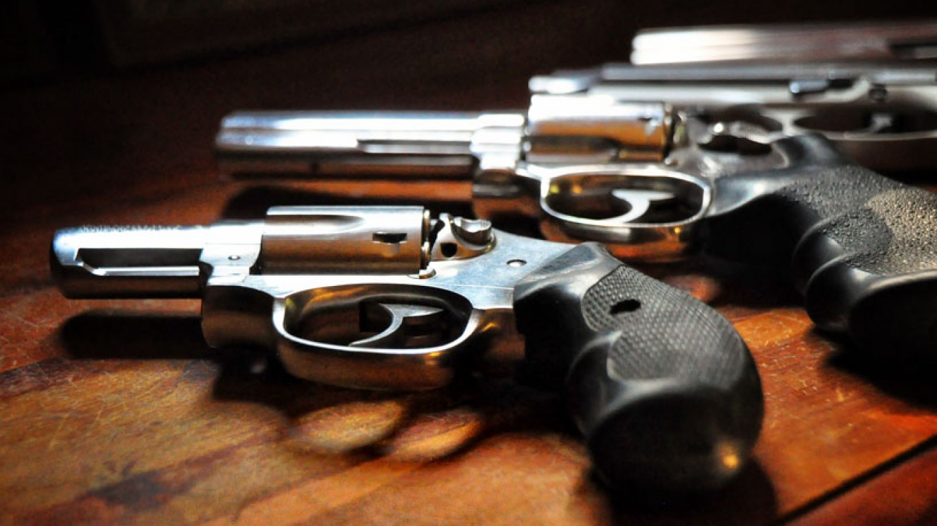Gun Play, Arkansas by Rod Waddington