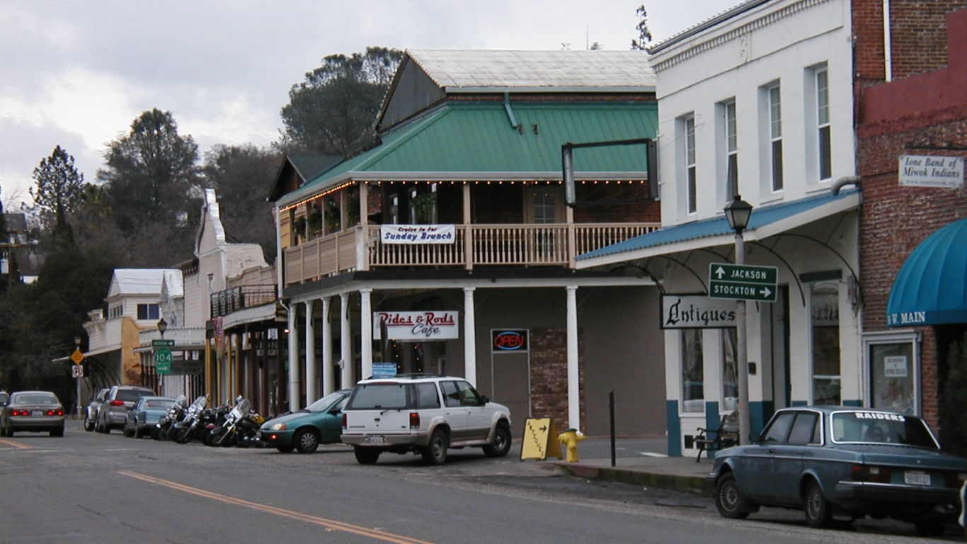 Downtown Ione, California by Eric Fredericks