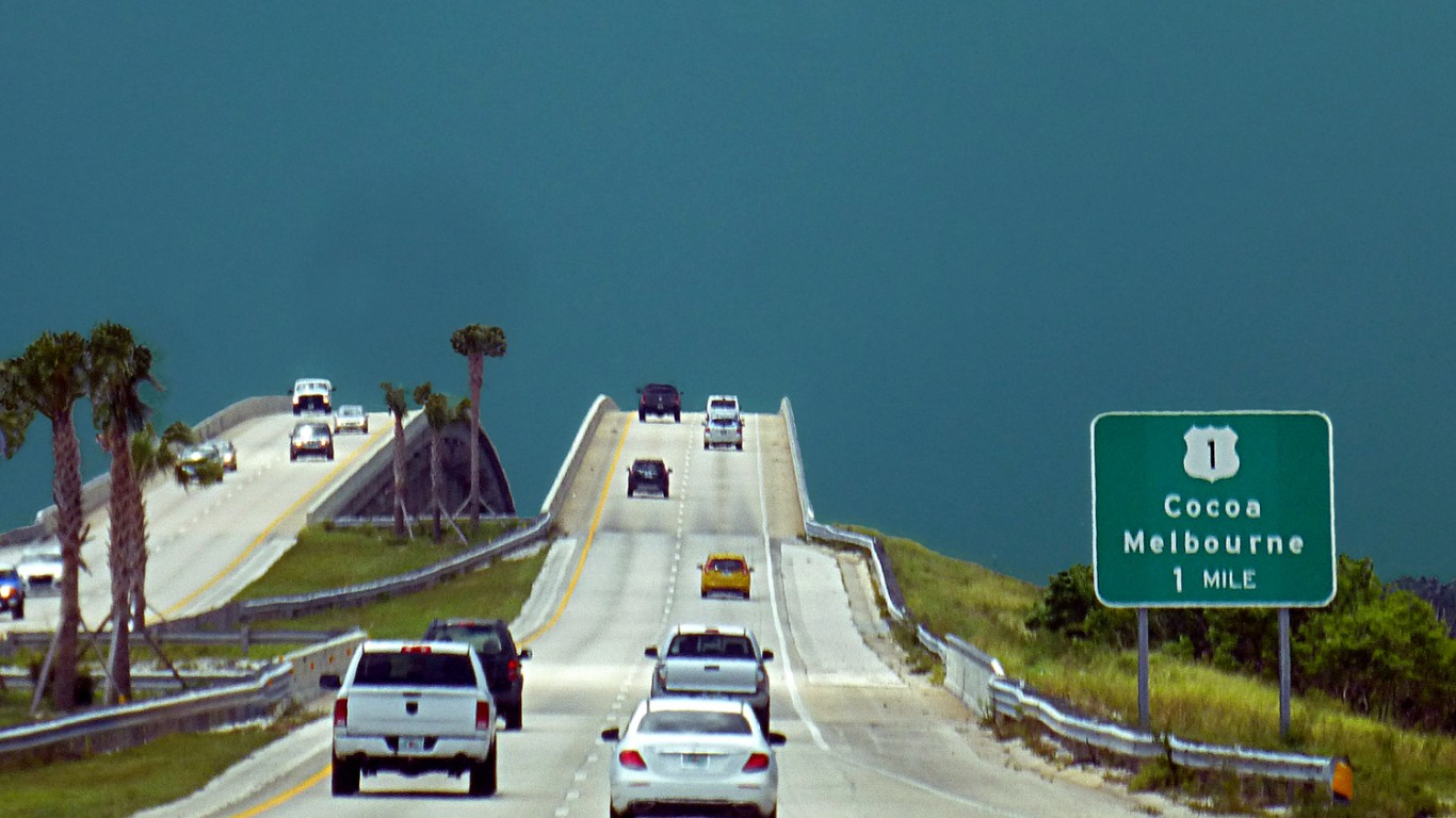 Cocoa, Florida, USA by Pom'