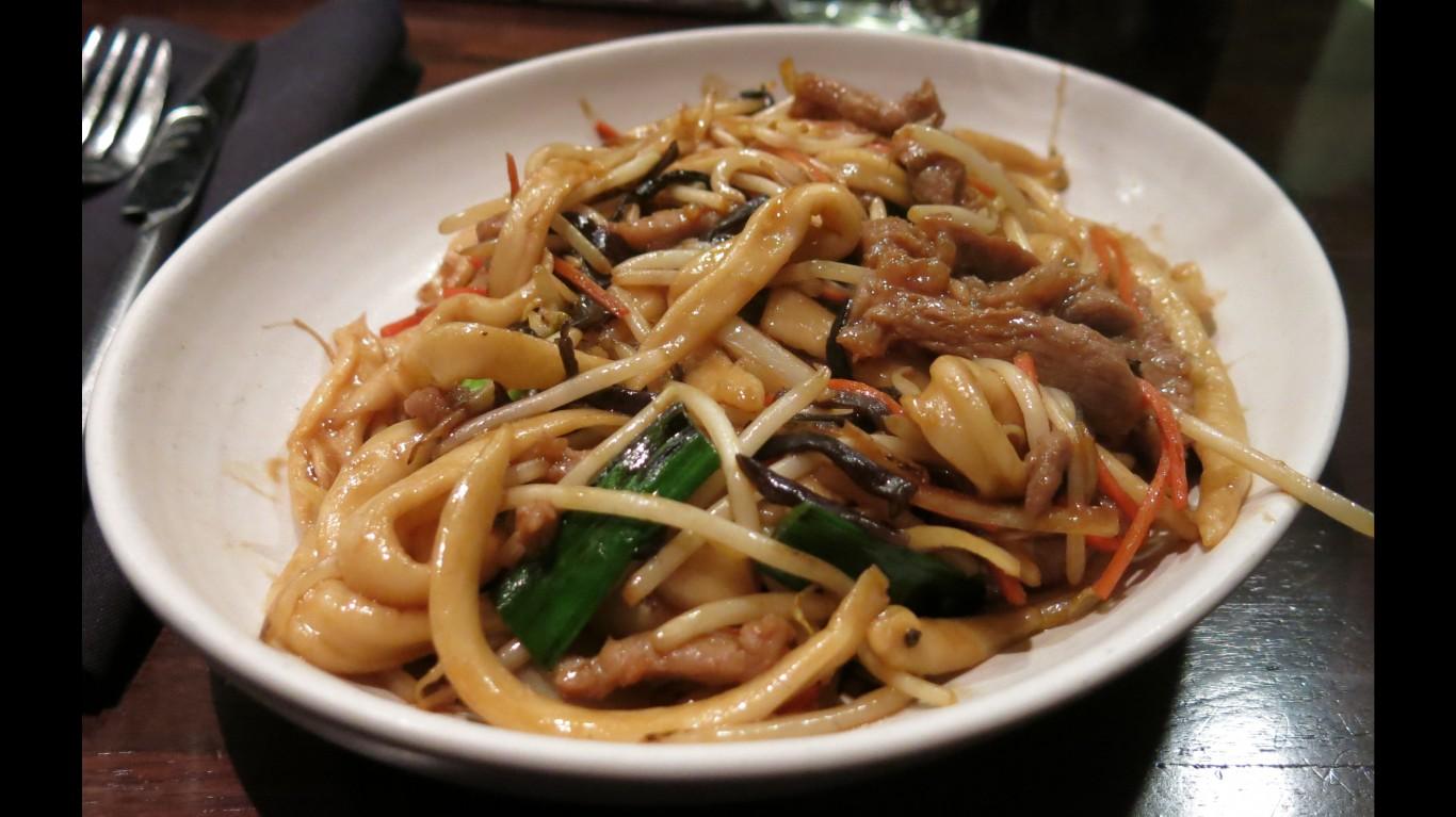 Wild Boar Scissor-cut Noodles ... by Gary Stevens