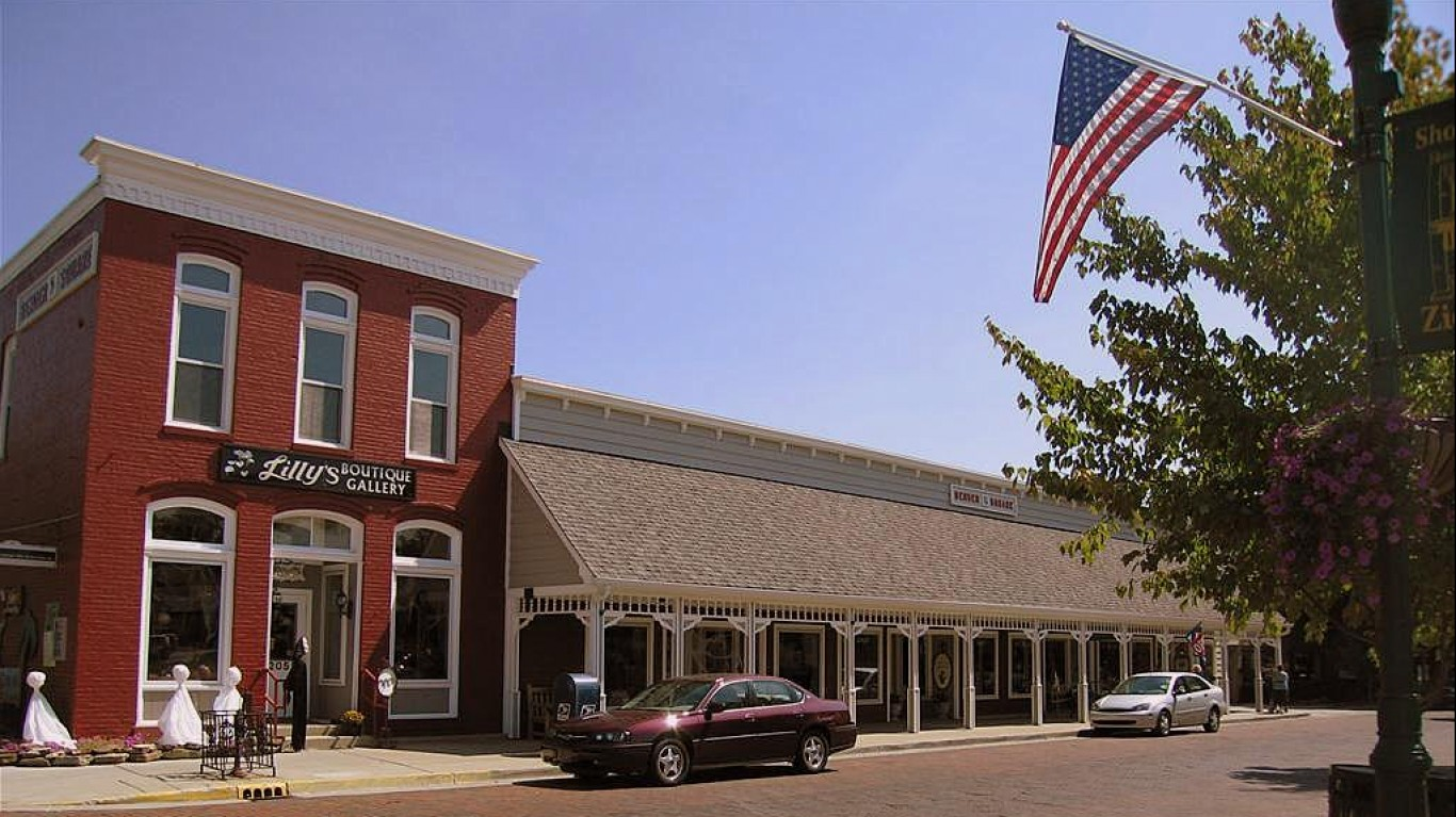 Downtown Zionsville by Paula Henry