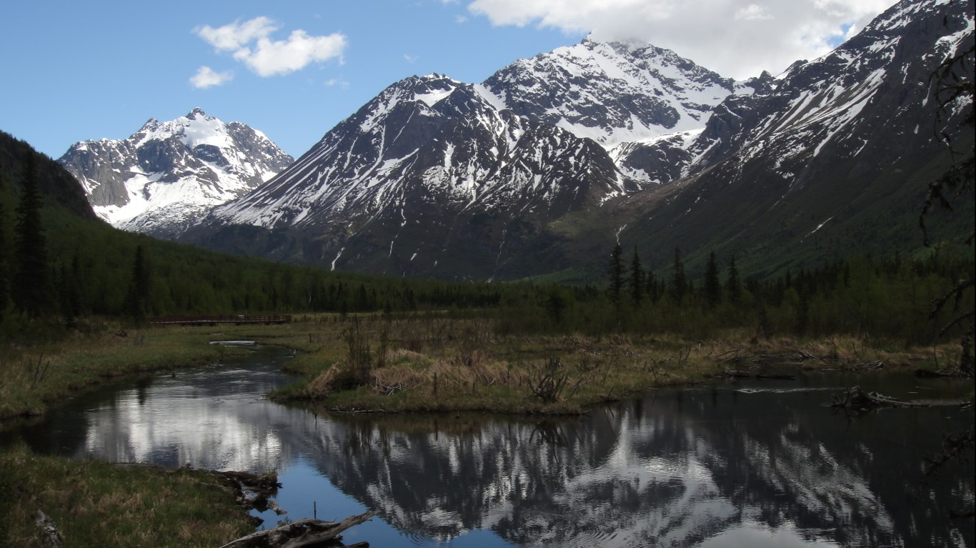 Hiking the Eagle River by U.S. Department of the Interior