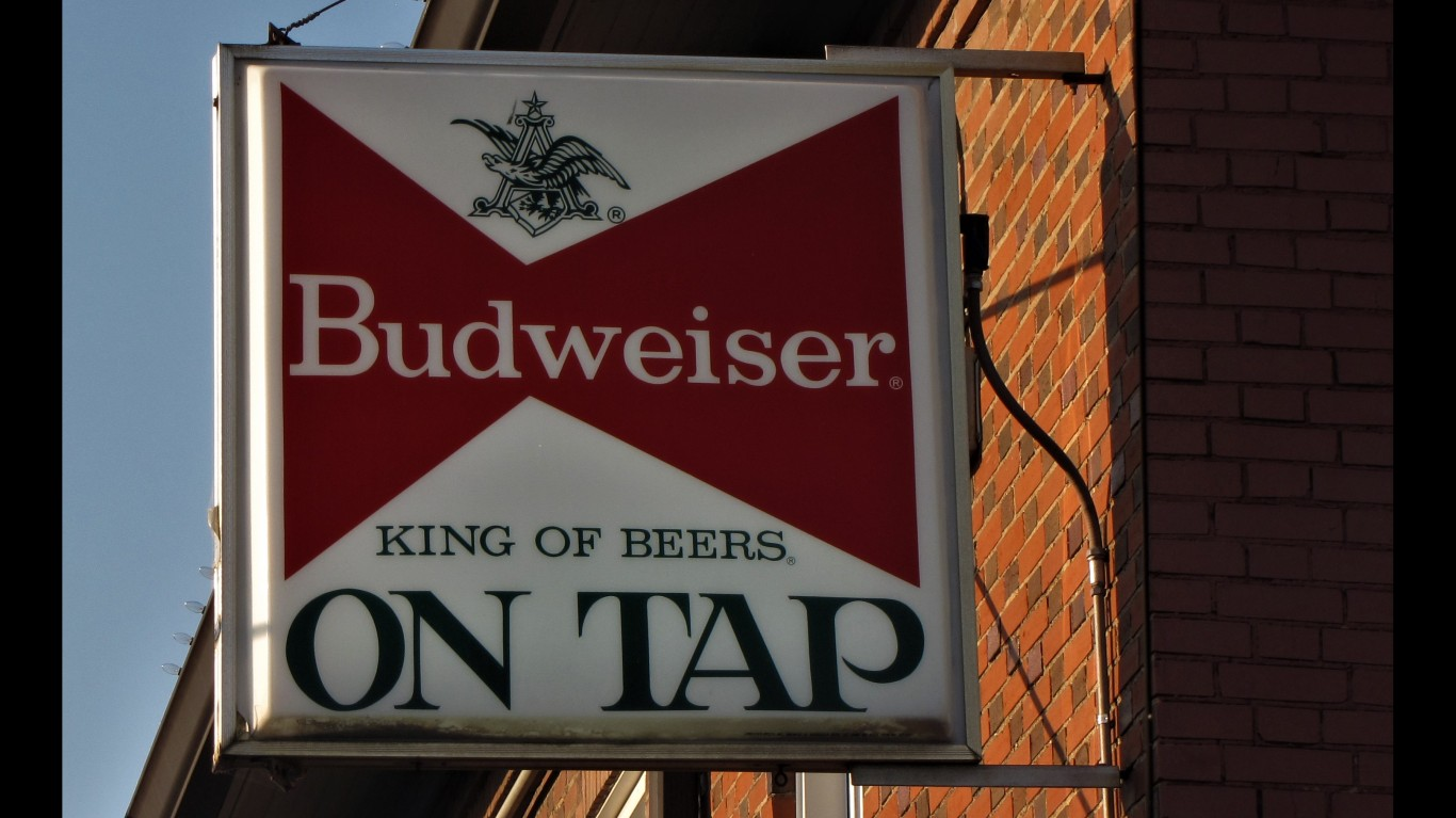 Budweiser ON TAP by Gerry Dincher