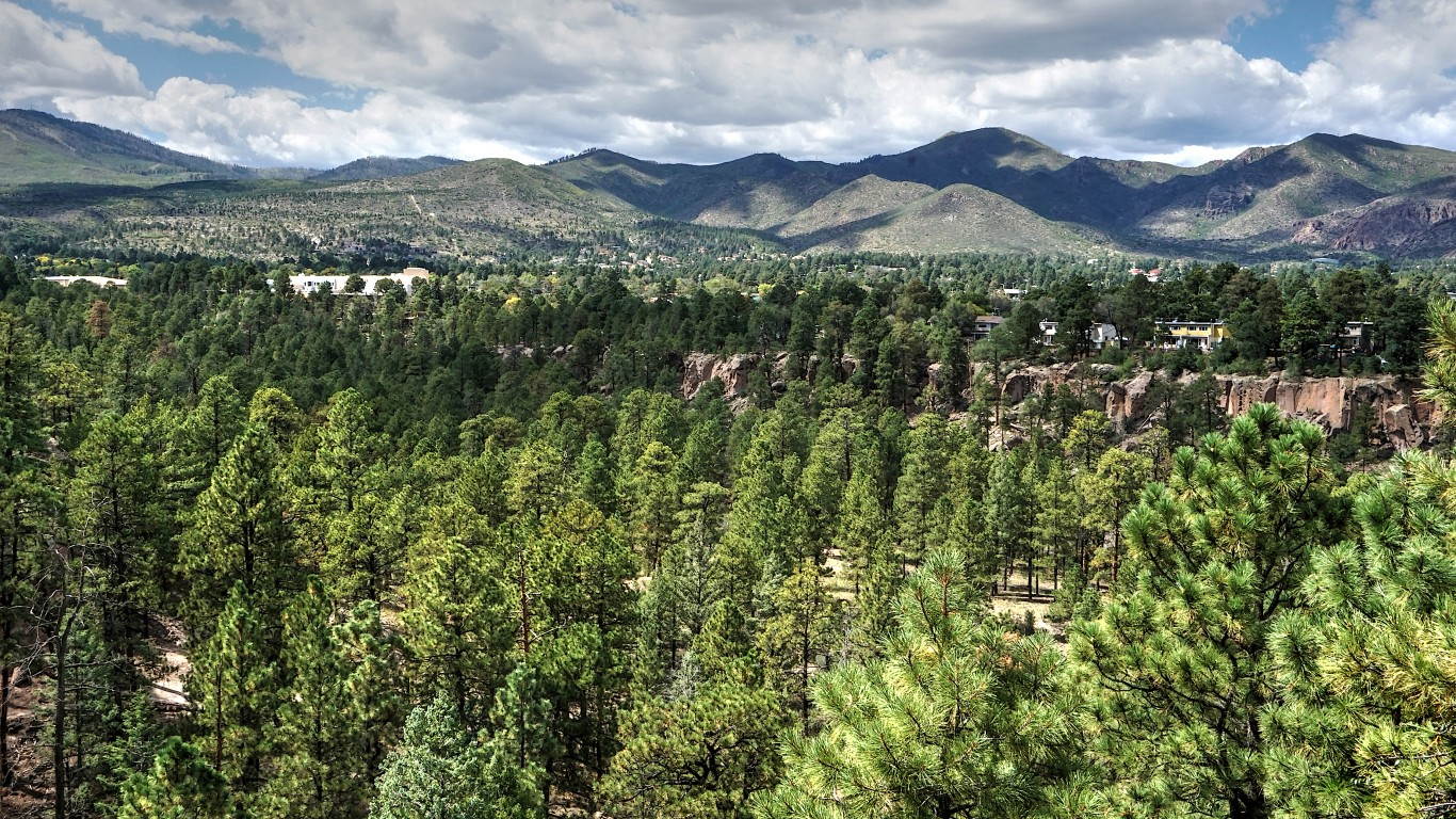 Los Alamos, New Mexico by psyberartist