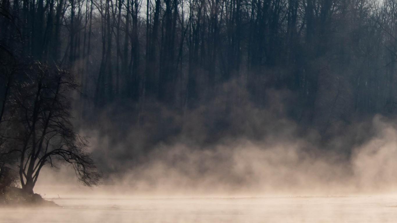 Foggy morning by David Geitgey Sierralupe