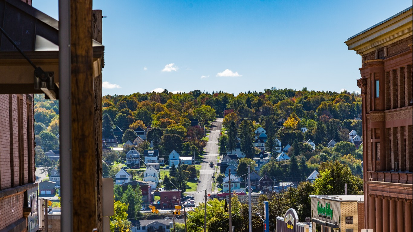 Houghton, Michigan by Tony Webster