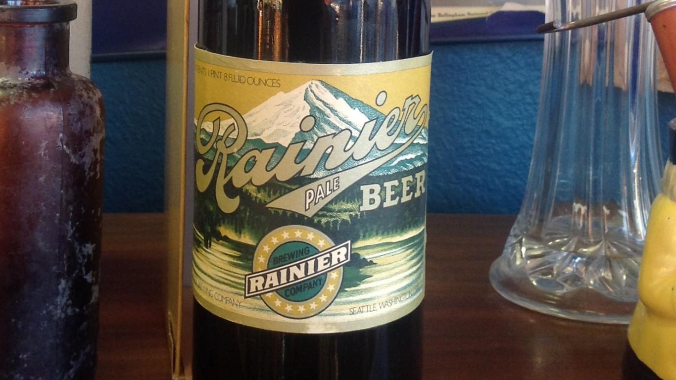 Rainier Beer, Seattle by jmv