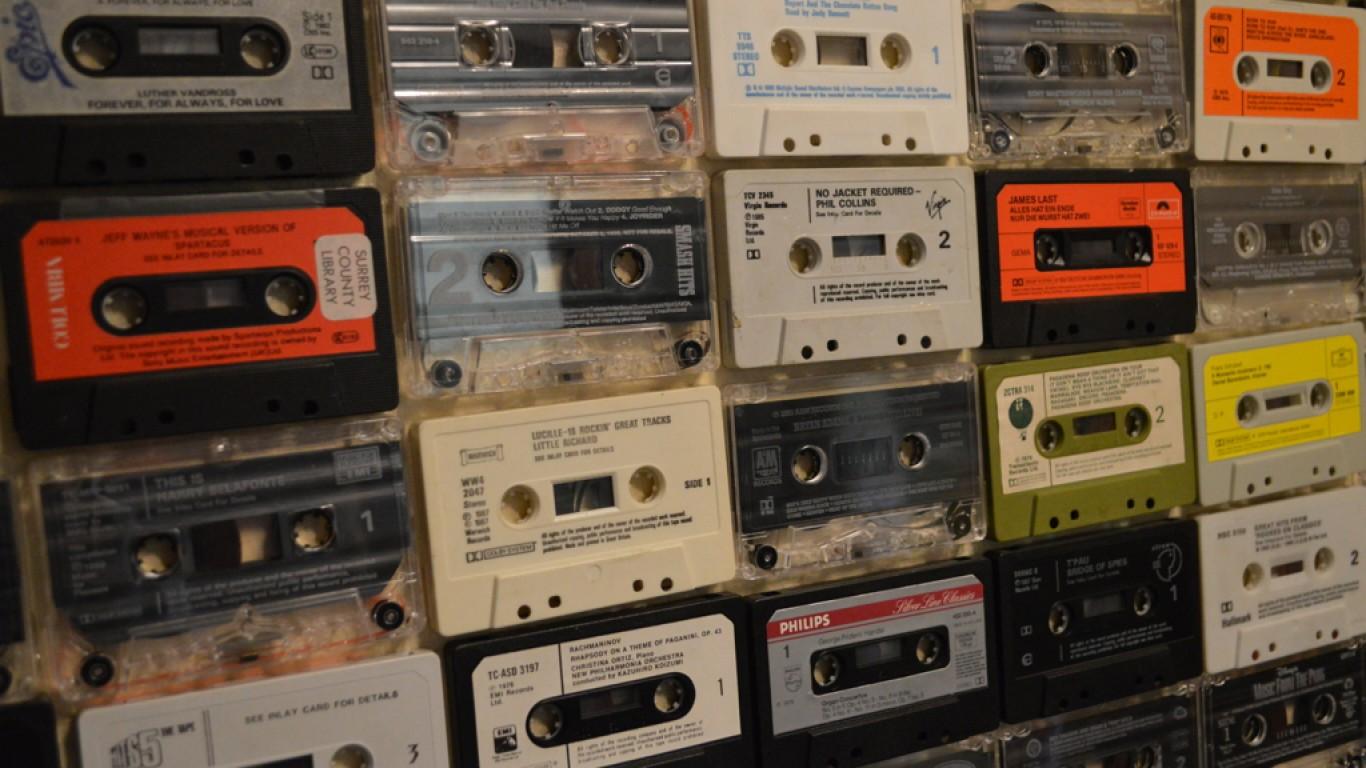 Cassettes by Matt Brown