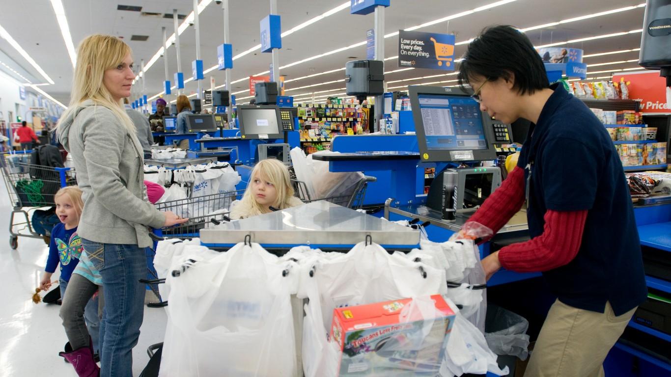 Walmart Grocery Checkout Line ... by Walmart