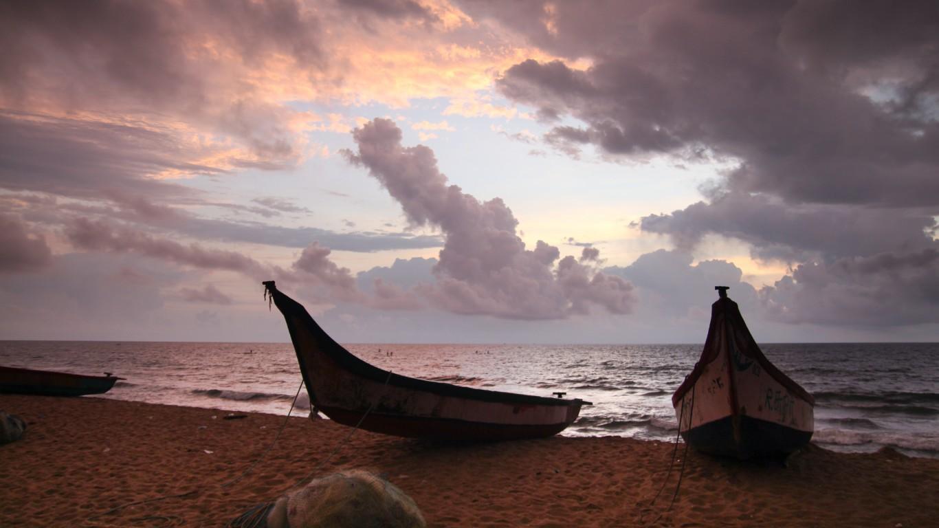 Bay of Bengal by Johan Bichel Lindegaard