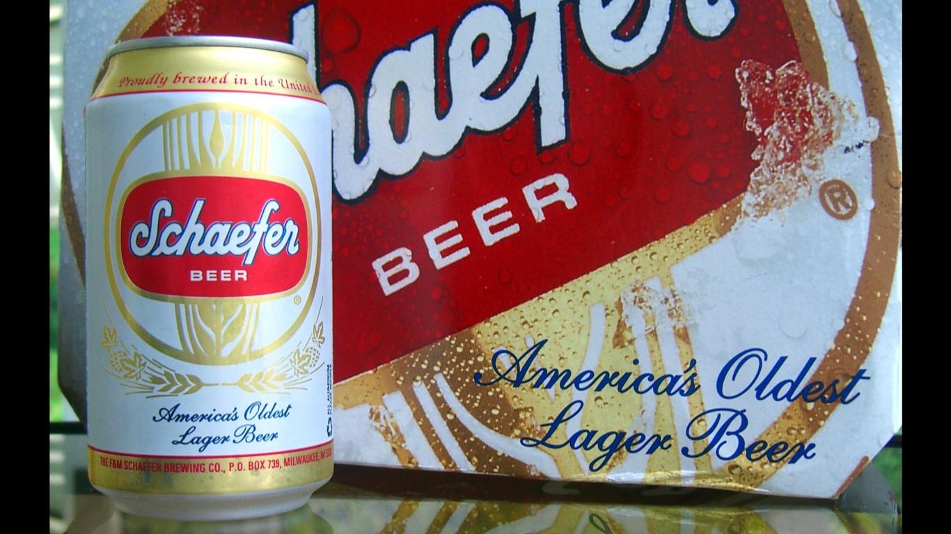 Schaefer Beer by walknboston