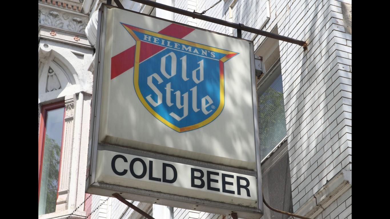 Old Style Beer Sign by Steven Miller