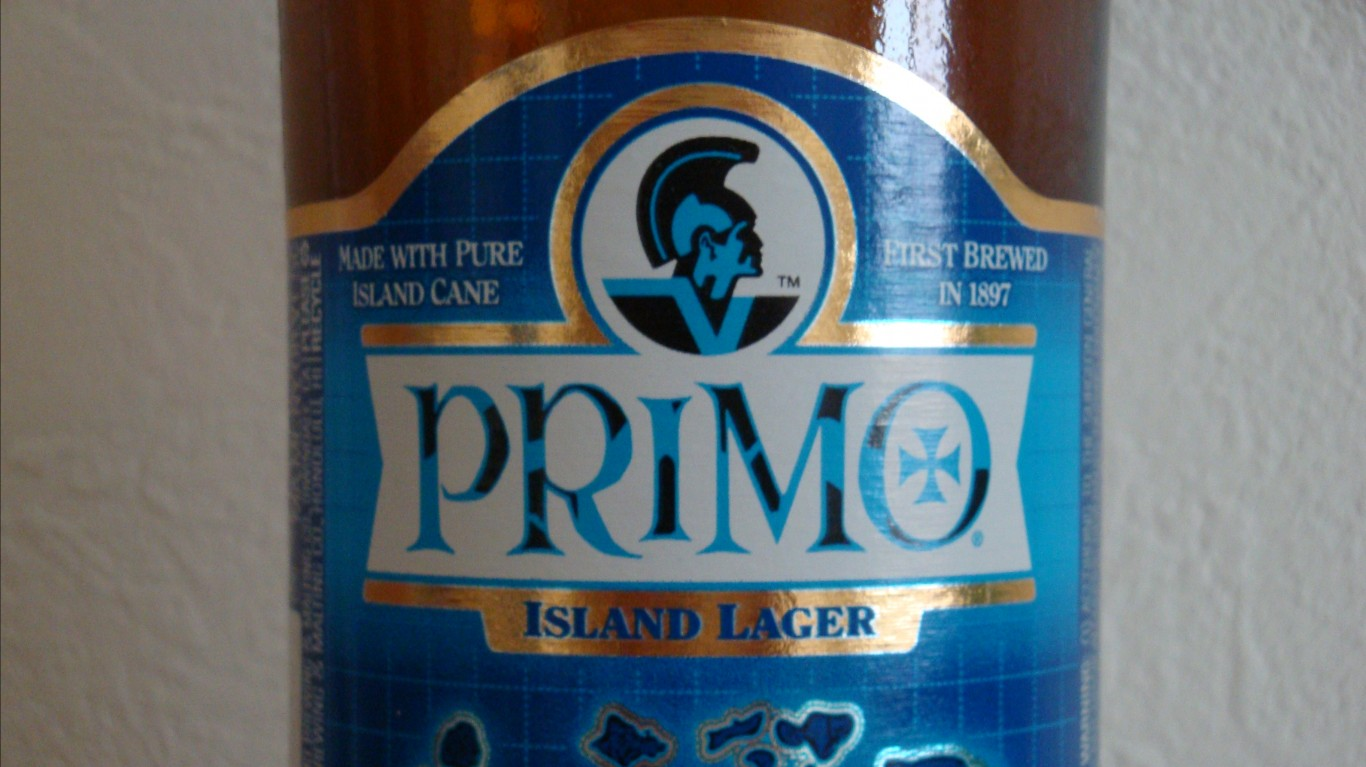 Primo Island Lager by David Pursehouse
