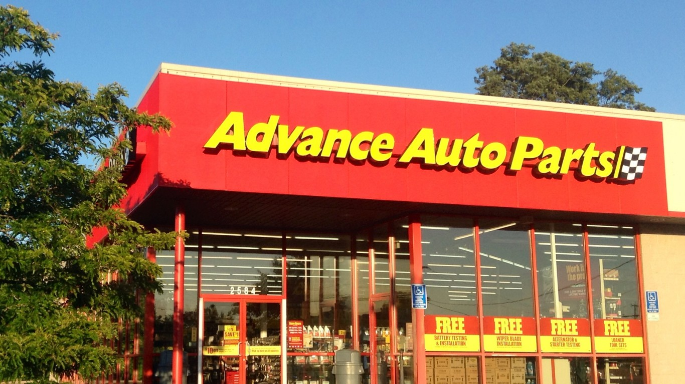 Advance Auto Parts by Mike Mozart