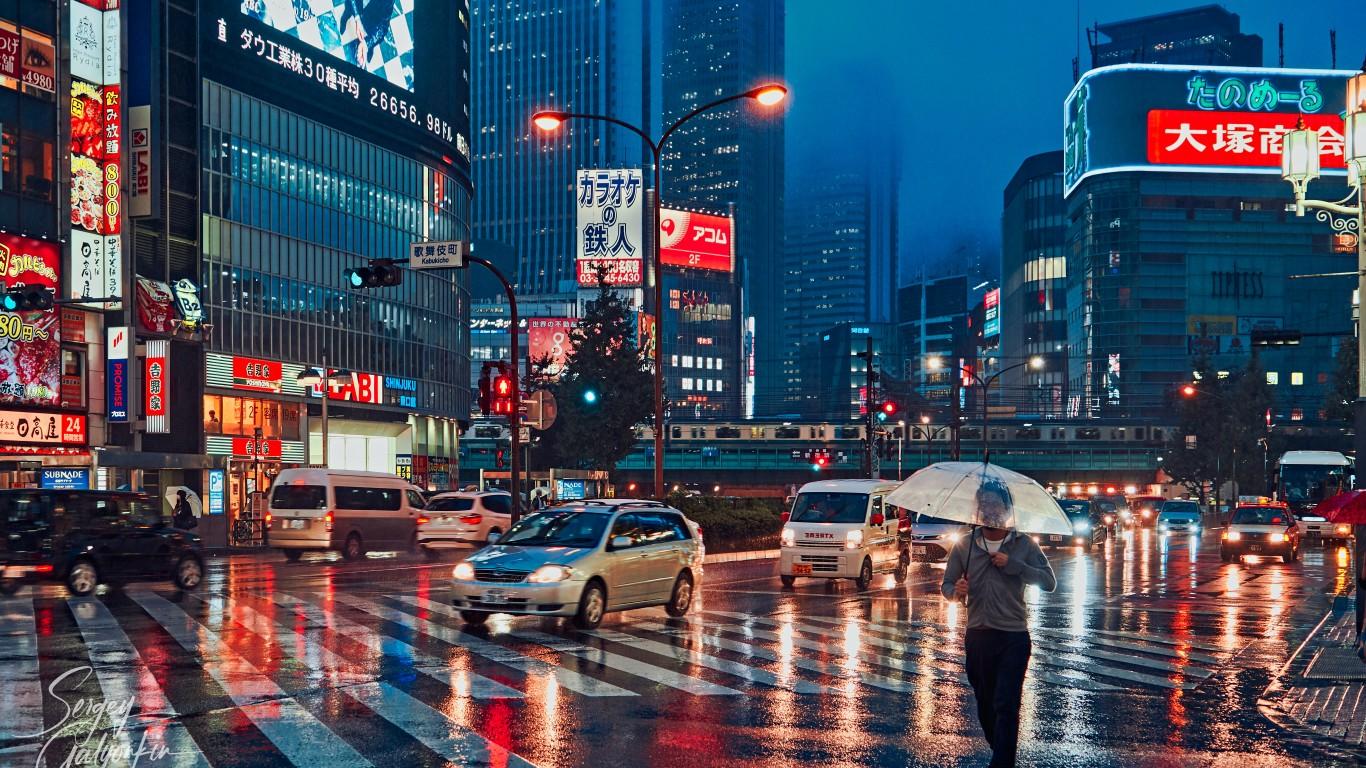 Tokyo at night (Shinjuku cross... by Sergey Galyonkin