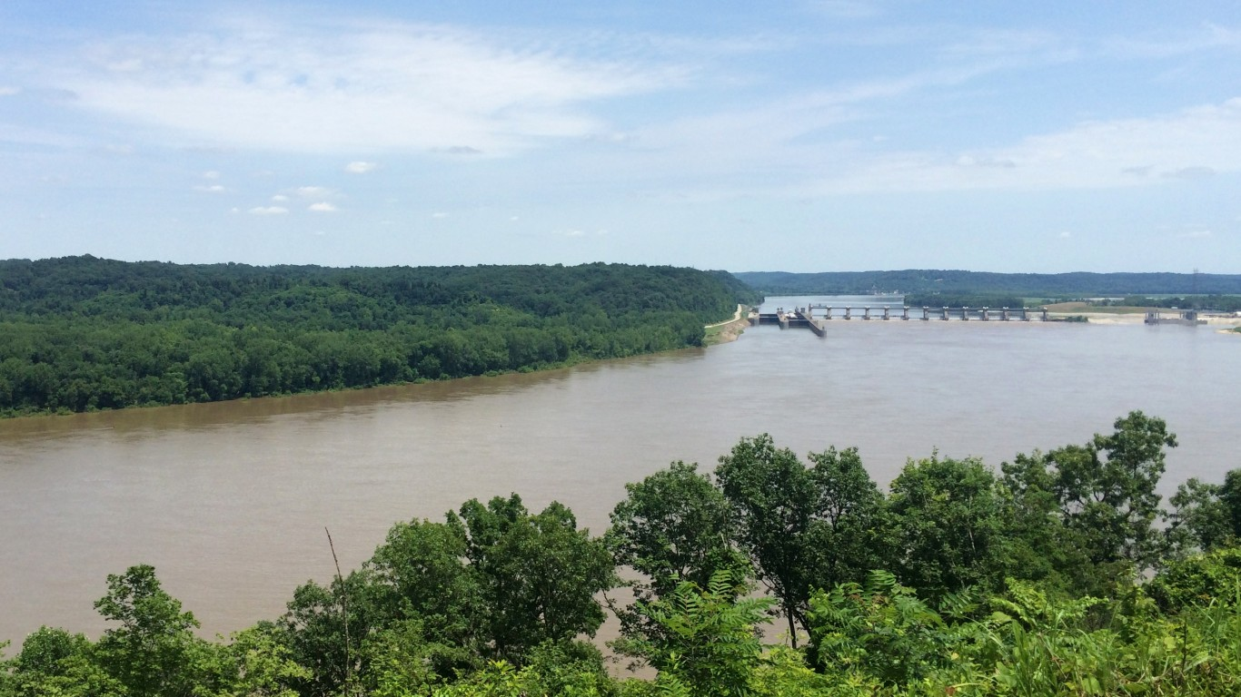 Cannelton Locks and Dam by LouisvilleUSACE