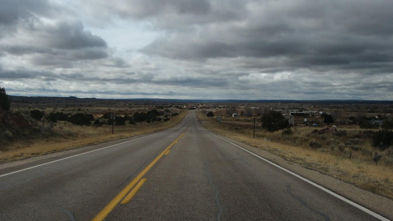 Approaching Zuni Pueblo, New M... by Ken Lund