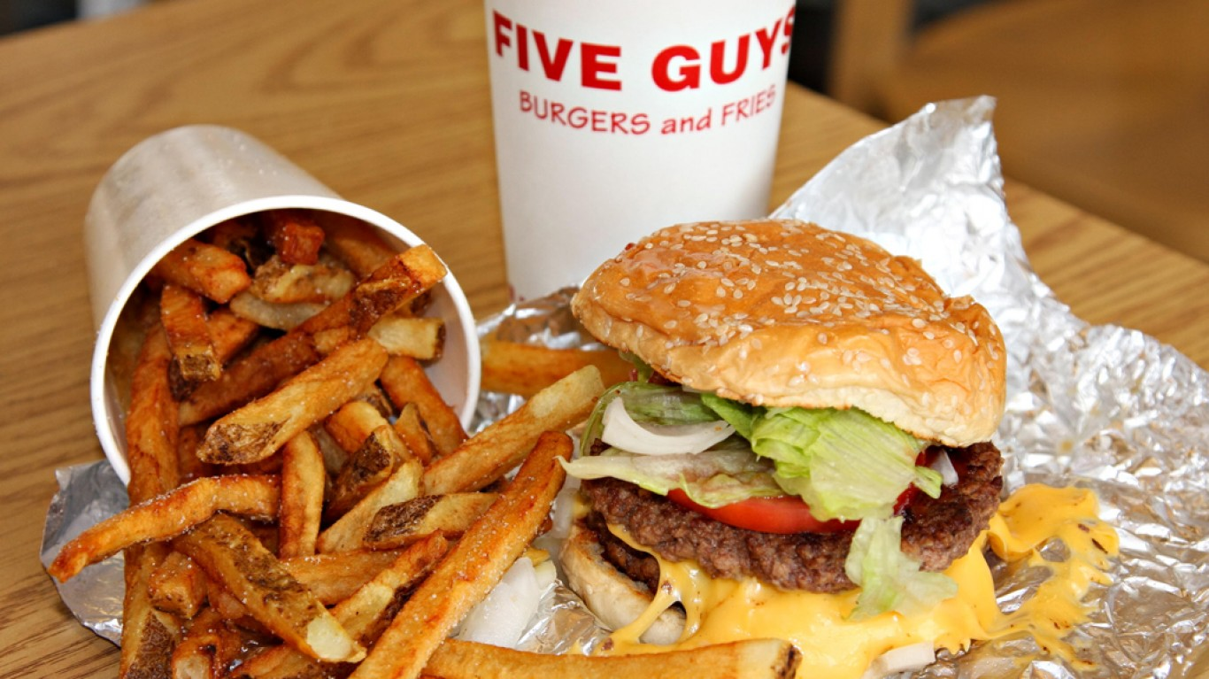 Five Guys Burgers and Fries by Jerry Huddleston