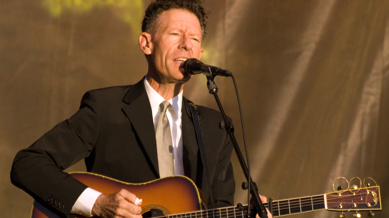 Lyle Lovett 5 by Eric Frommer