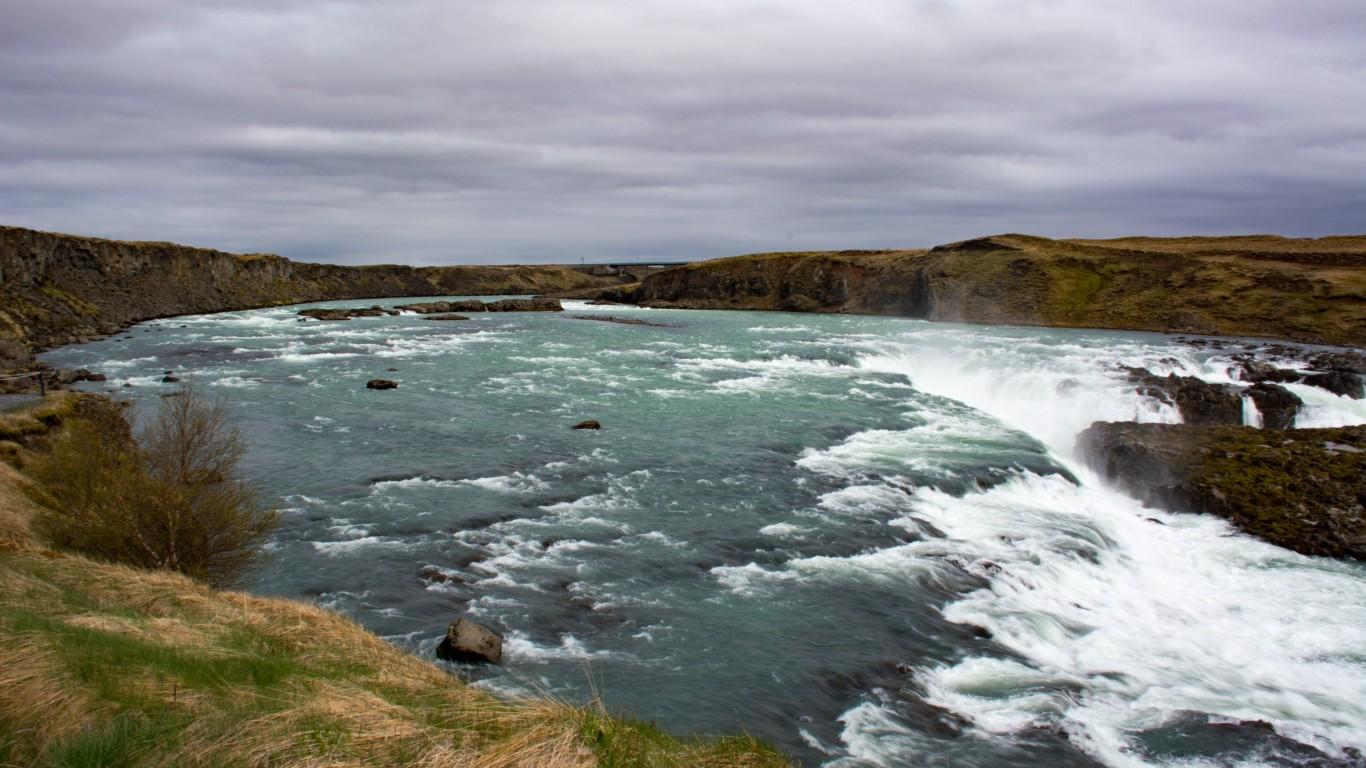 Urriðafoss waterfalls by Shriram Rajagopalan