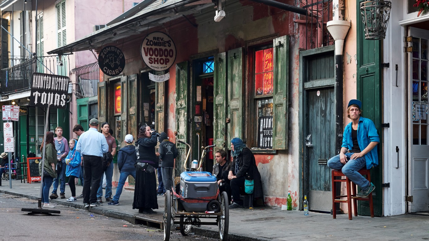 New Orleans, Louisiana by Pedro Szekely